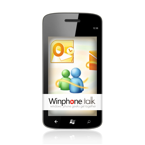 Windows Phone 7 – Outlook Kontakte und Termine synchronisieren